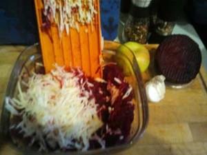 салат из свеклы Здоровье